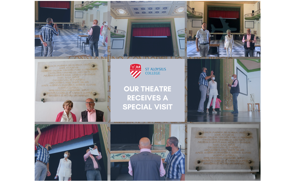 Our Theatre receives a special visit…