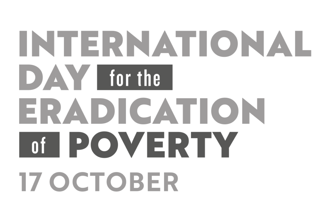 The 17th October is the International Day for the Eradication of Poverty…
